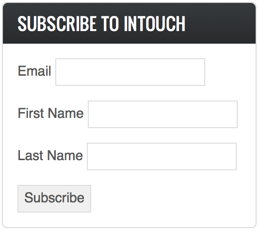 Subscribe to InTouch