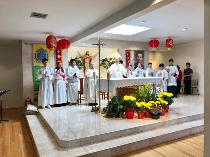 2-2-2020 Wedding Anniversary Mass at St. Bridget